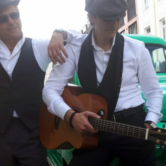 #mafia komplott - claudio e peppino mit italo-americano songs im blues style
